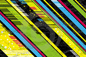 Background With Black And Color Diagonals Stock Images - Image: 16072574