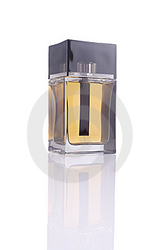Perfume Bottle (with Clipping Path) Royalty Free Stock Photography - Image: 16074467
