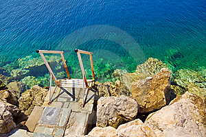 Stairs To Sea Royalty Free Stock Photography - Image: 16074897