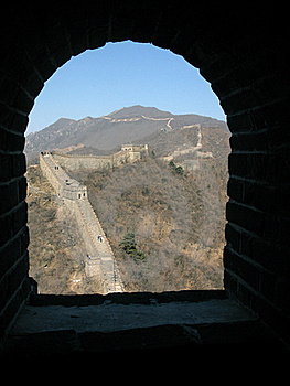 The Great Wall Of China At Mutianyu, Beijing, Chin Royalty Free Stock Photography - Image: 16075237