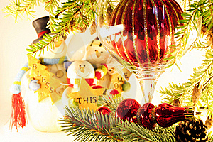 Christmas Holiday Decorations Stock Images - Image: 16075314