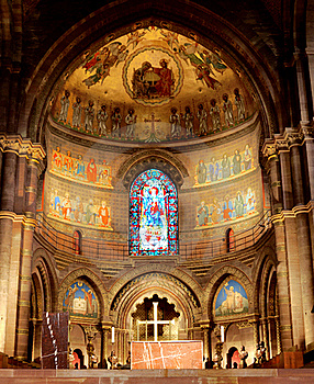 Cathedral Interior Stock Photography - Image: 16077422
