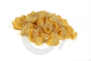 Pasta Shells On A White Background Stock Photography - Image: 16080572