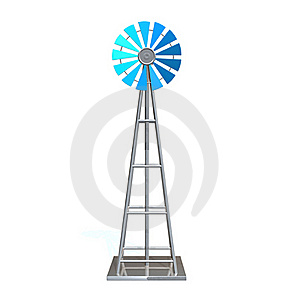 Windmill Royalty Free Stock Photography - Image: 16081047