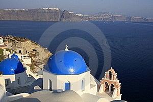 Oia, City In Greece Island Santorini Royalty Free Stock Photos - Image: 16081718