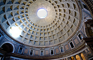 Inside The Pantheon, Rome, Italy Royalty Free Stock Photo - Image: 16081815
