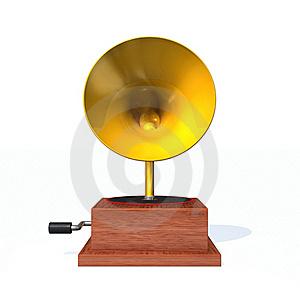 Phonograph Royalty Free Stock Photo - Image: 16082035