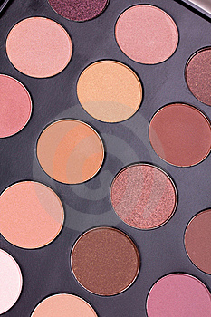 Neutral Eyeshadows Palette Stock Images - Image: 16082694