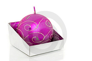 Christmas Decorations On White Background Royalty Free Stock Photography - Image: 16083177