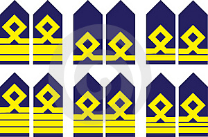 Military Ranks Royalty Free Stock Images - Image: 16083519