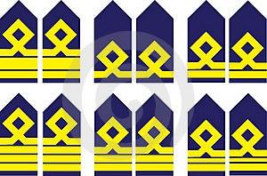 Militaire Rangen Royalty-vrije Stock Afbeeldingen - Afbeelding: 16083519