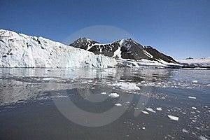 Arctic Glacier Landscape (Spitsbergen) Stock Photo - Image: 16085620