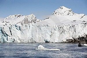 Arctic Glacier Landscape (Spitsbergen) Royalty Free Stock Image - Image: 16085706
