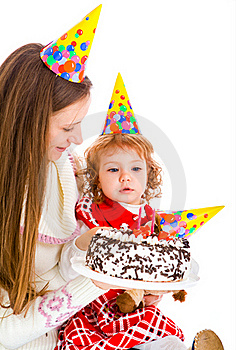 Birthday Cake Royalty Free Stock Photography - Image: 16085877