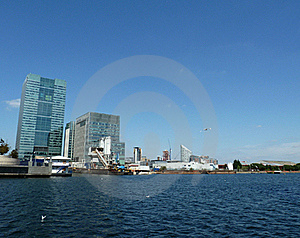 London Docklands Water View Stock Photography - Image: 16086032