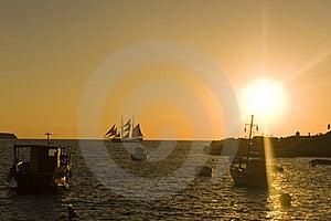 Sunset Stock Image - Image: 16086101