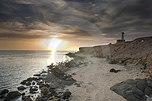 Sunrise Over The Ocean Stock Photos - Image: 16089773