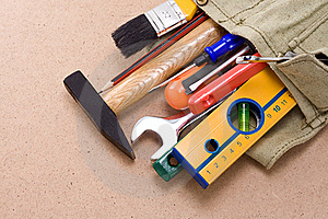Tools In Bag Stock Photography - Image: 16092072