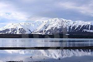 Lake Tekapo In Winter Royalty Free Stock Photography - Image: 16092597
