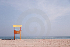 Lifeguard Baywatch Tower Royalty Free Stock Images - Image: 16092849