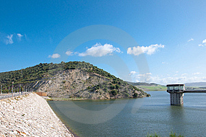 Reservoir Of Gadalcacin Royalty Free Stock Images - Image: 16094419