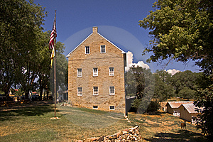 Old Aztec Mill Stock Image - Image: 16095811