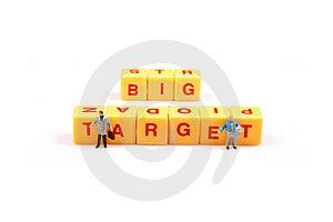 Big Target Stock Image - Image: 16096621