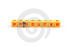 Producer Power Royalty Free Stock Photos - Image: 16096878