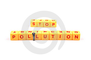Effort To Stop Pollution Stock Image - Image: 16097051