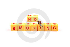Say No To Smoking Royalty Free Stock Images - Image: 16097079