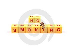 Say No To Smoking Royalty Free Stock Images - Image: 16097079