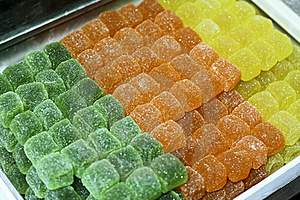 Turkish Delights (Lokum) Stock Images - Image: 16097274