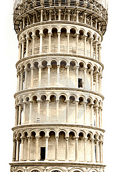 Leaning Tower In Pisa, Tuscany, Italy Stock Images - Image: 16097804