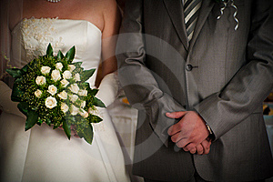 Groom And Fiancee Royalty Free Stock Image - Image: 16099816