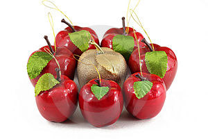Hand Made Apples Royalty Free Stock Image - Image: 1610886