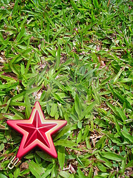 Christmas Star Decoration With Copyspace Royalty Free Stock Photography - Image: 1611077