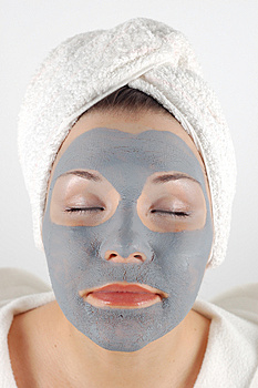 Spa mask #13 Royalty Free Stock Photos