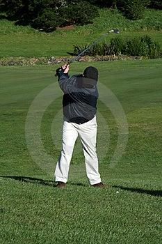 Oscillation De Golfeur Images libres de droits - Image: 1617279