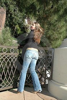 Femme Insouciante Photos stock - Image: 1618073