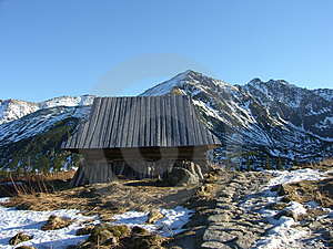 Mountain Refuge Royalty Free Stock Images - Image: 1618699