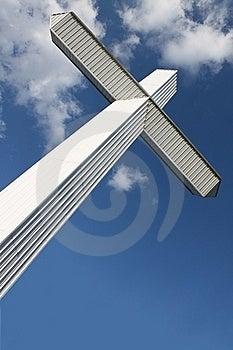 Modern Cross 2 Stock Photo - Image: 16100190