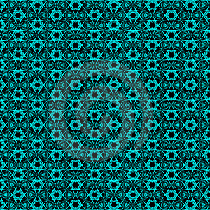 Repeating Background Of Turquoise And Black Royalty Free Stock Photography - Image: 16100847