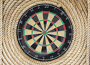 Dartboard Stock Photography - Image: 16102092