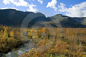 September Day In The Mountains Stock Images - Image: 16102944