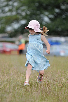 Girl Running Stock Image - Image: 16103201