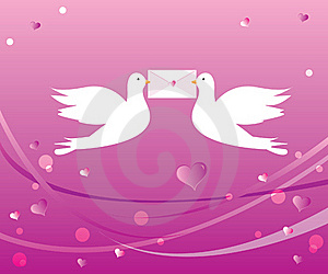 Loving Doves Stock Photography - Image: 16103492