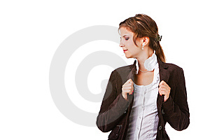 Young Attractive Businesswoman Royalty Free Stock Images - Image: 16115969