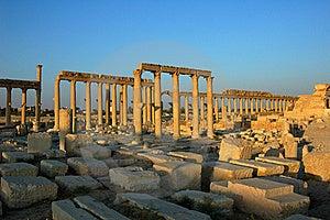 Site Of Palmyra Syria Stock Photo - Image: 16116970