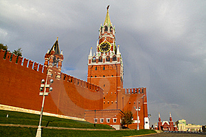Kremlin On The Red Square Stock Photo - Image: 16117150