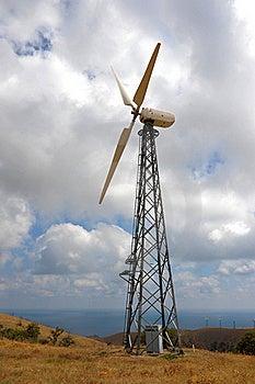 Wind Turbines Farm Stock Image - Image: 16117741